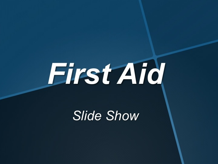 First Aid Info 1