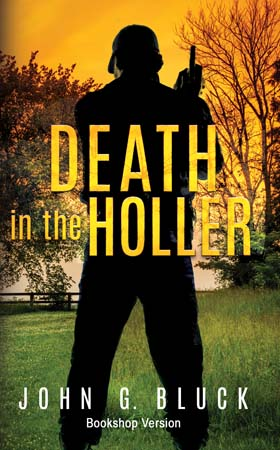 Book cover, Death in the Holler: Bookshop Version