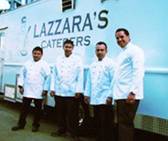 Lazzara's caterers on Location at HBO's Sex and The City