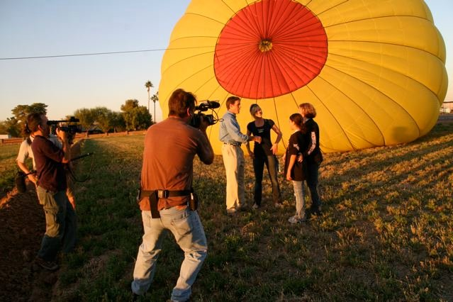 Interviewing a Skydiver
