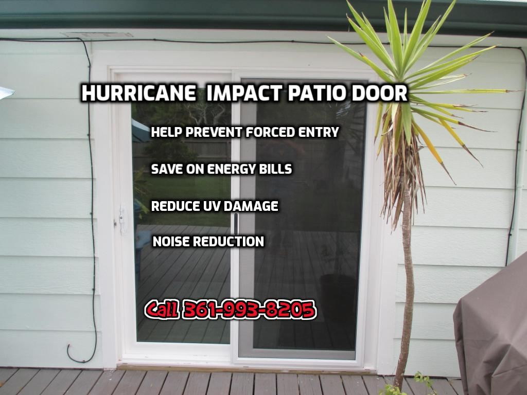 Hurricane Impact Patio Door