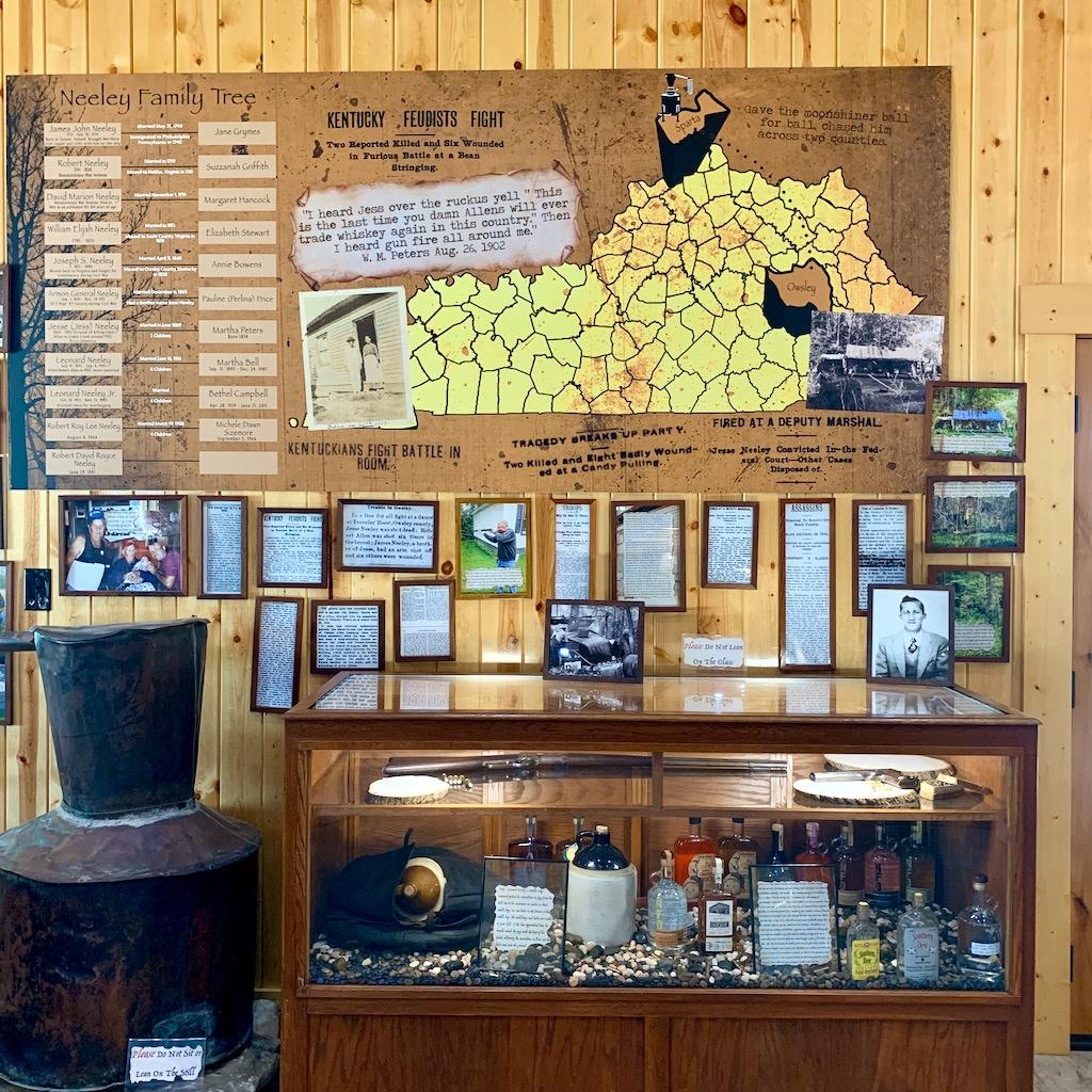 Neeley Family History Exhibits - Neeley Family Distillery