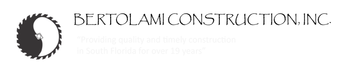 Bertolami Construction, Inc. in Palm City, FL is a contractor.