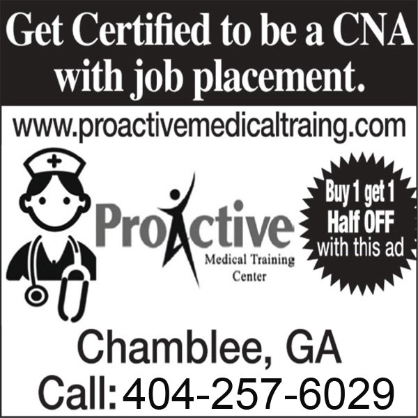 Proactive Medical Training Center |CNA and CPR Training in Atlanta, GA