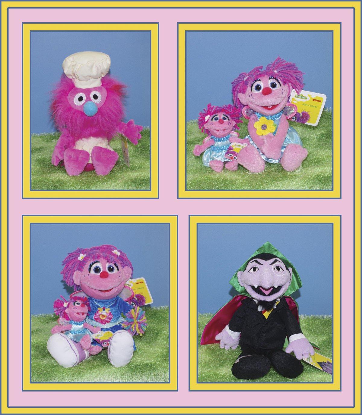 Toys Hobbies Gund Sesame Street Count Von Count Plush