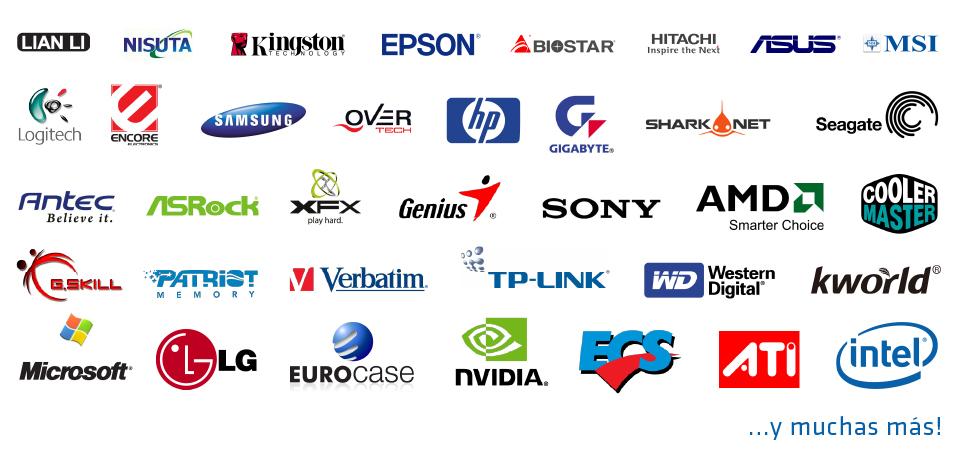 Resultado de imagen para todas las marcas de computadora y tecnologia