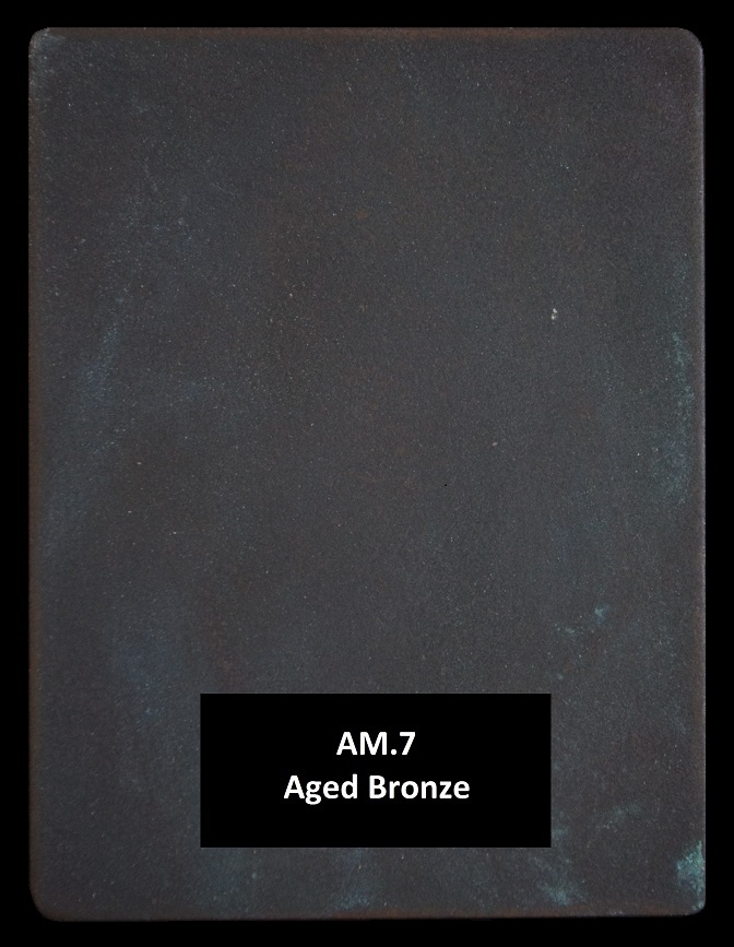 Metal finishes - metal coating AM.7 Aged Bronze
