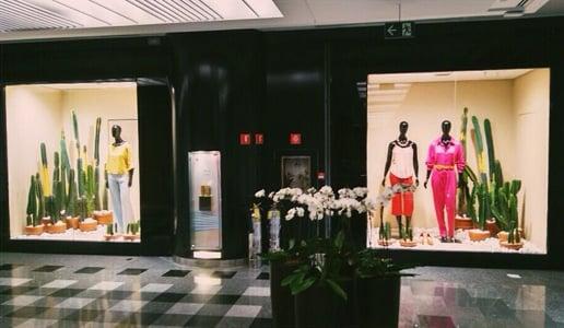 Aluguel de plantas para loja em Shopping Center
