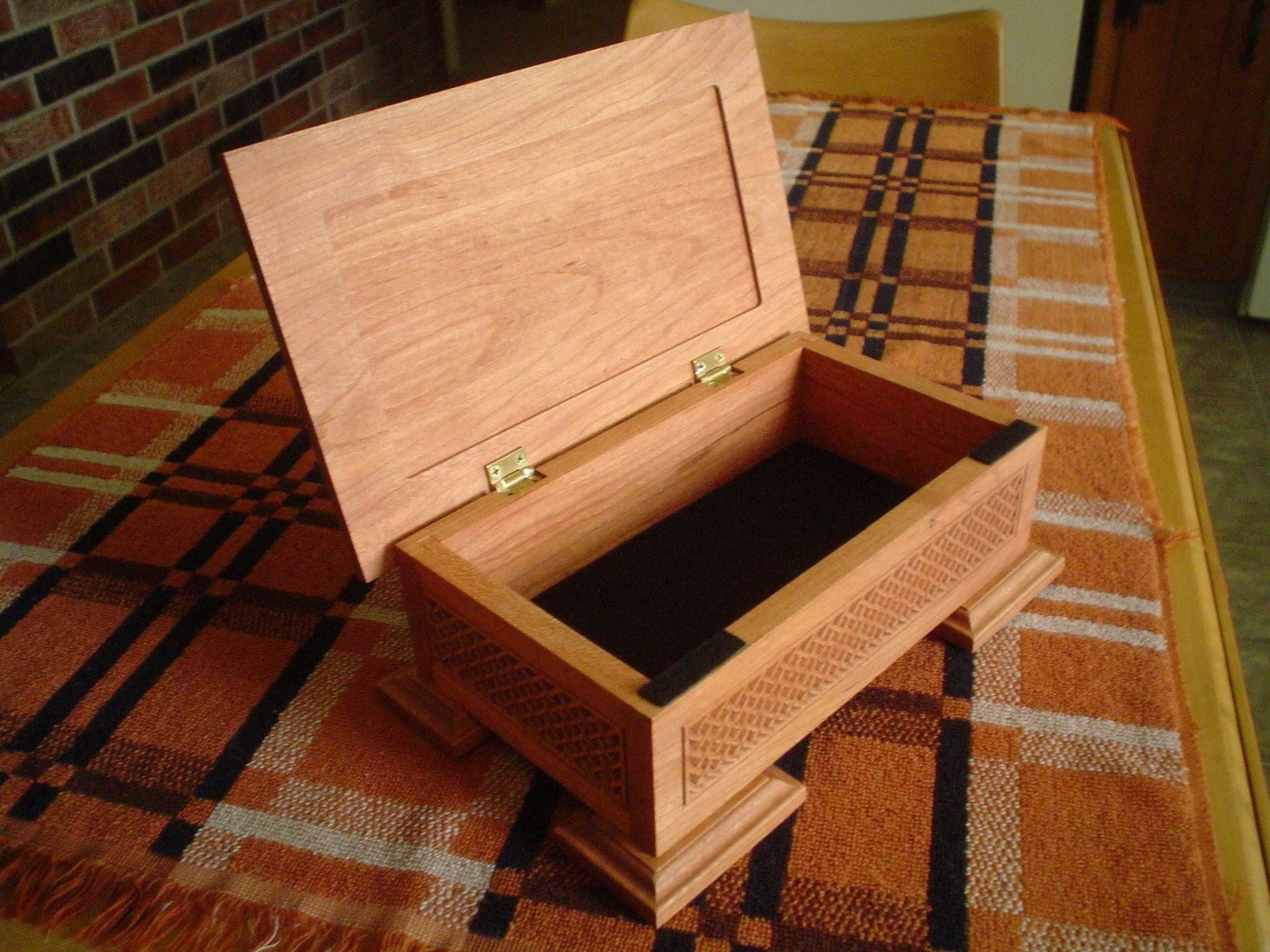 Wooden Wedding Keepsake Box