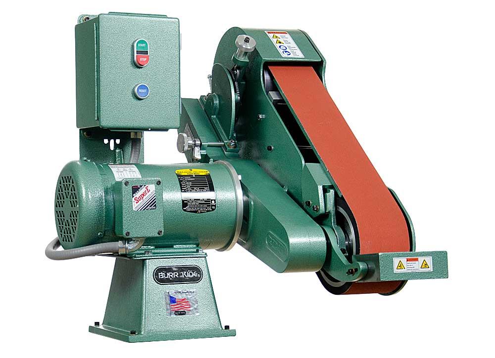Model 960-400 4 x 60 Two Wheel Belt Grinder