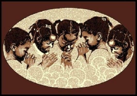 Kids Prayer  5x7