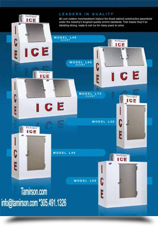 Attractive ice refrigerators||||