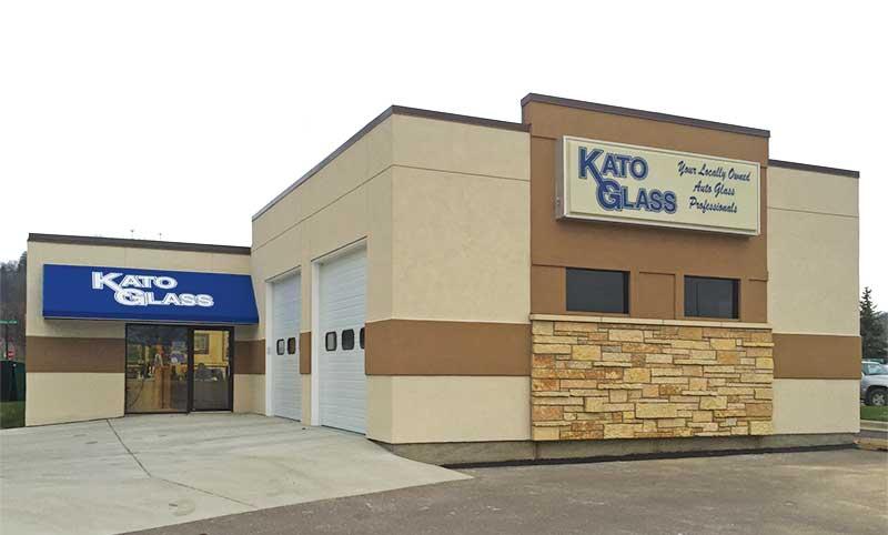 Kato Glass Storefront