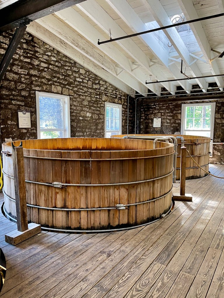 Cypress Fermenters - Woodford Reserve Distillery