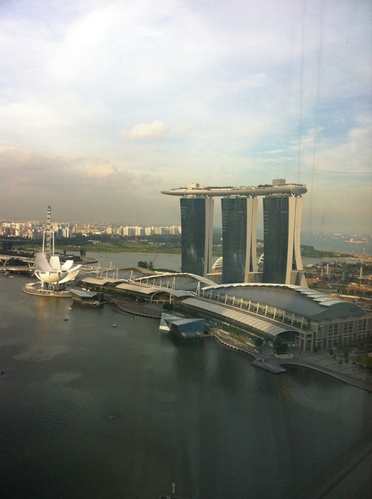 Amazing view of Marina Bay from your Living Room at your Bayview Serviced Residence from SailAtMarinaBay.com