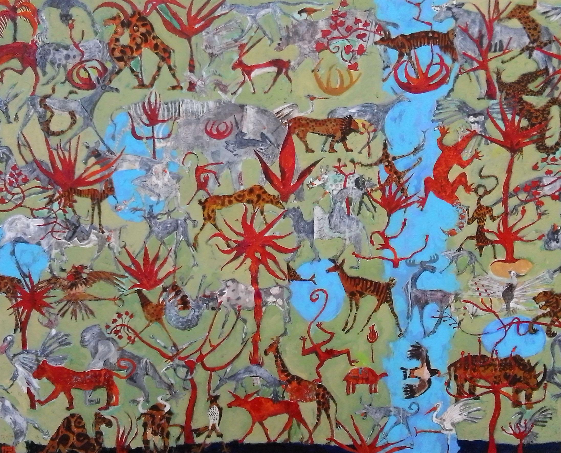 El Método de Circe Mixta s/tela 80 x 100 cms