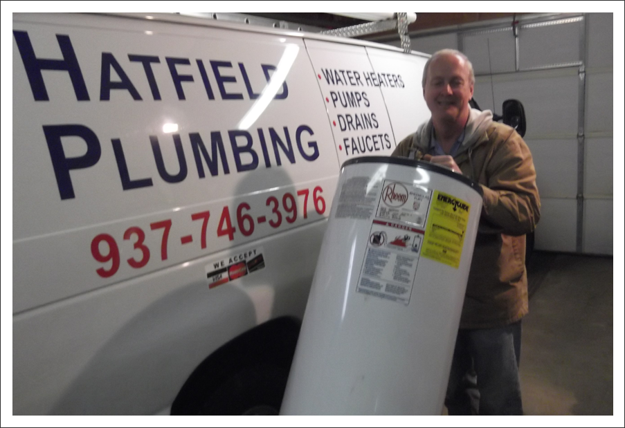 Plumber with rheem water heater||||