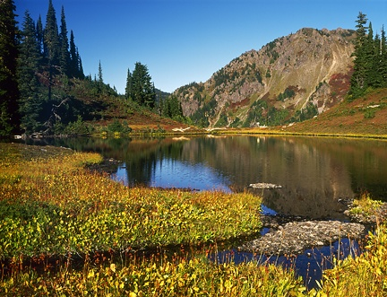 Heart Lake, Olympic Mountains
