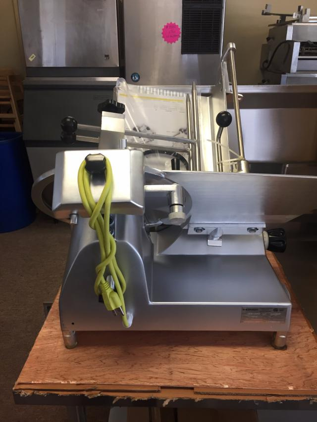 "New Hebvest 12"" Meat Slicer 1/2 HP Model #FS12MD $975.00"