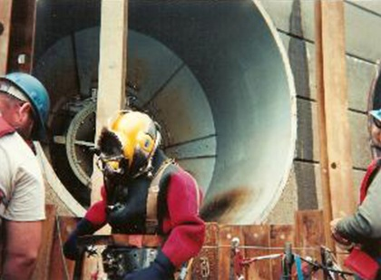 Hydroelectric Diving Project