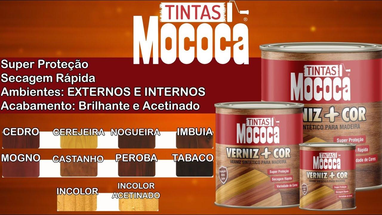 VERNIZ + COR CEDRO, CEREJEIRA, NOGUEIRA, IMBUIA, MOGNO, CASTANHO, PEROBA, TABACO, INCOLOR (BR/AC)