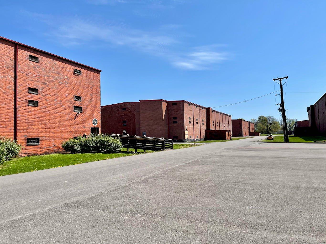 Clay Tile 20,000 Barrel Rickhouses - Green River Distilling Co