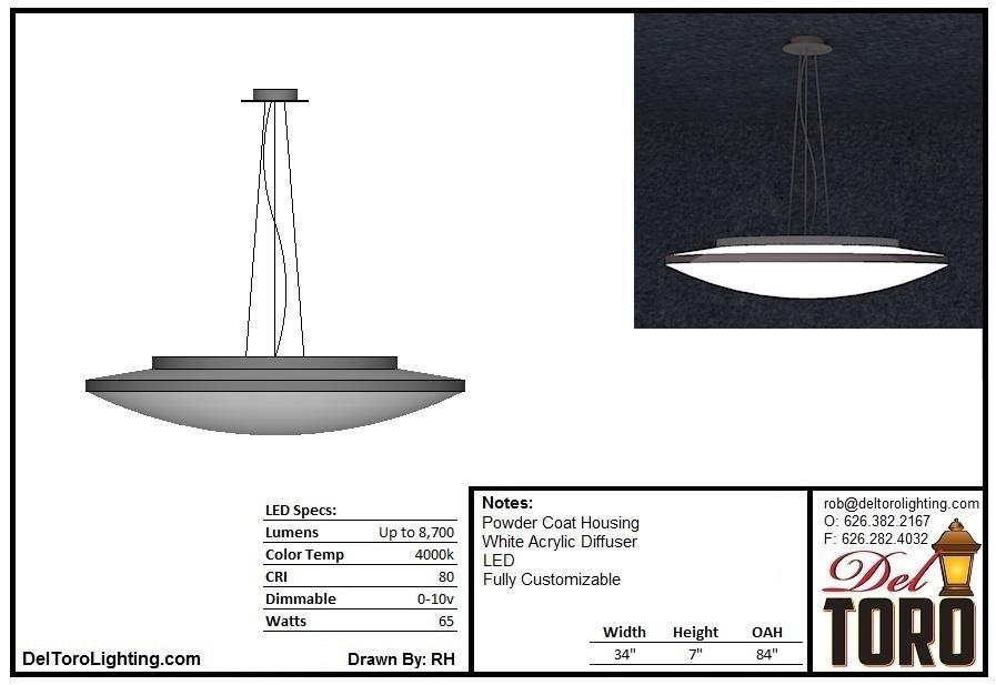 025P-Saucer Pendant