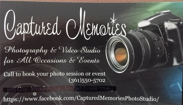 Captured Memories Jamie Albert Schaefer  361 550-5702