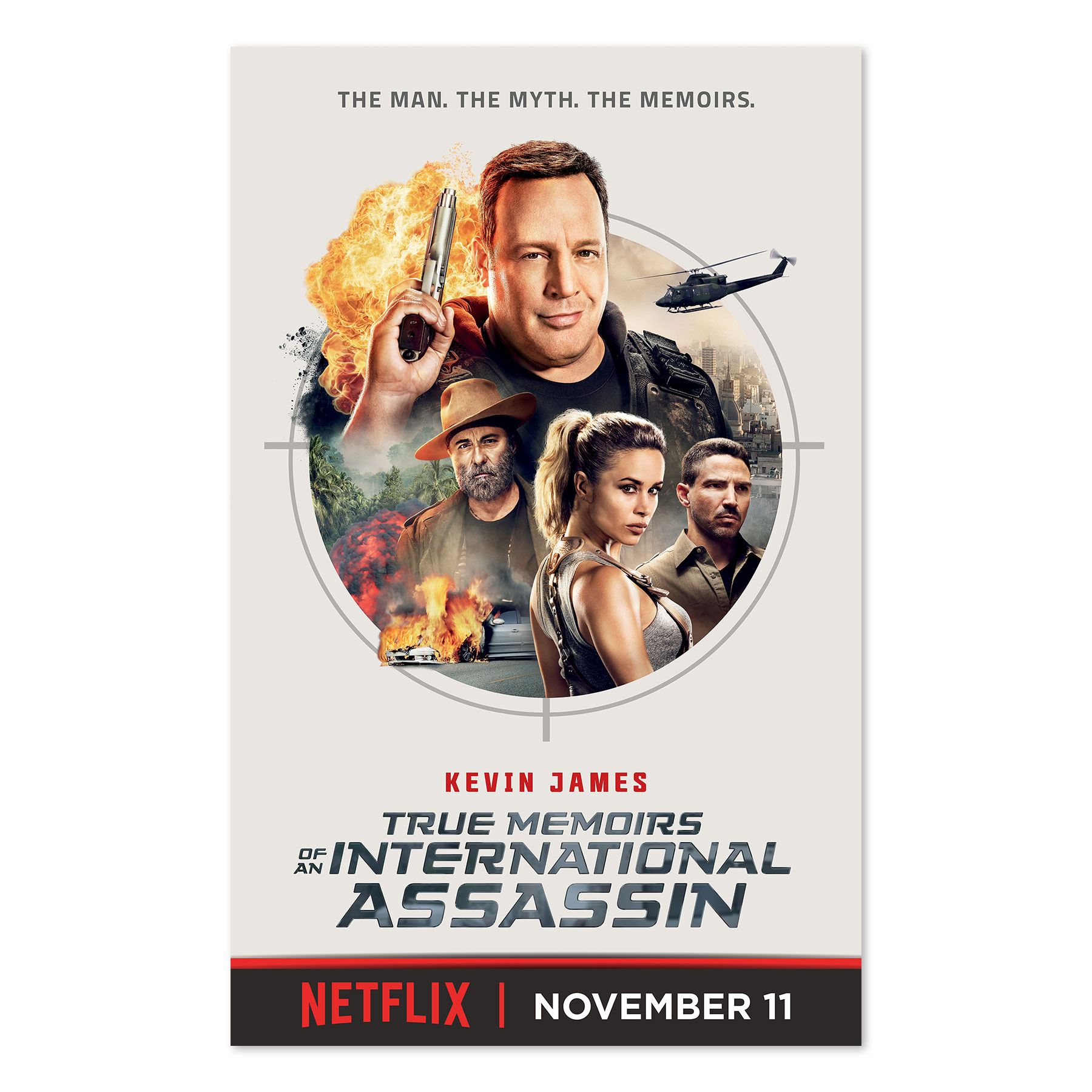 Kevin James Digital Banner for Netflix