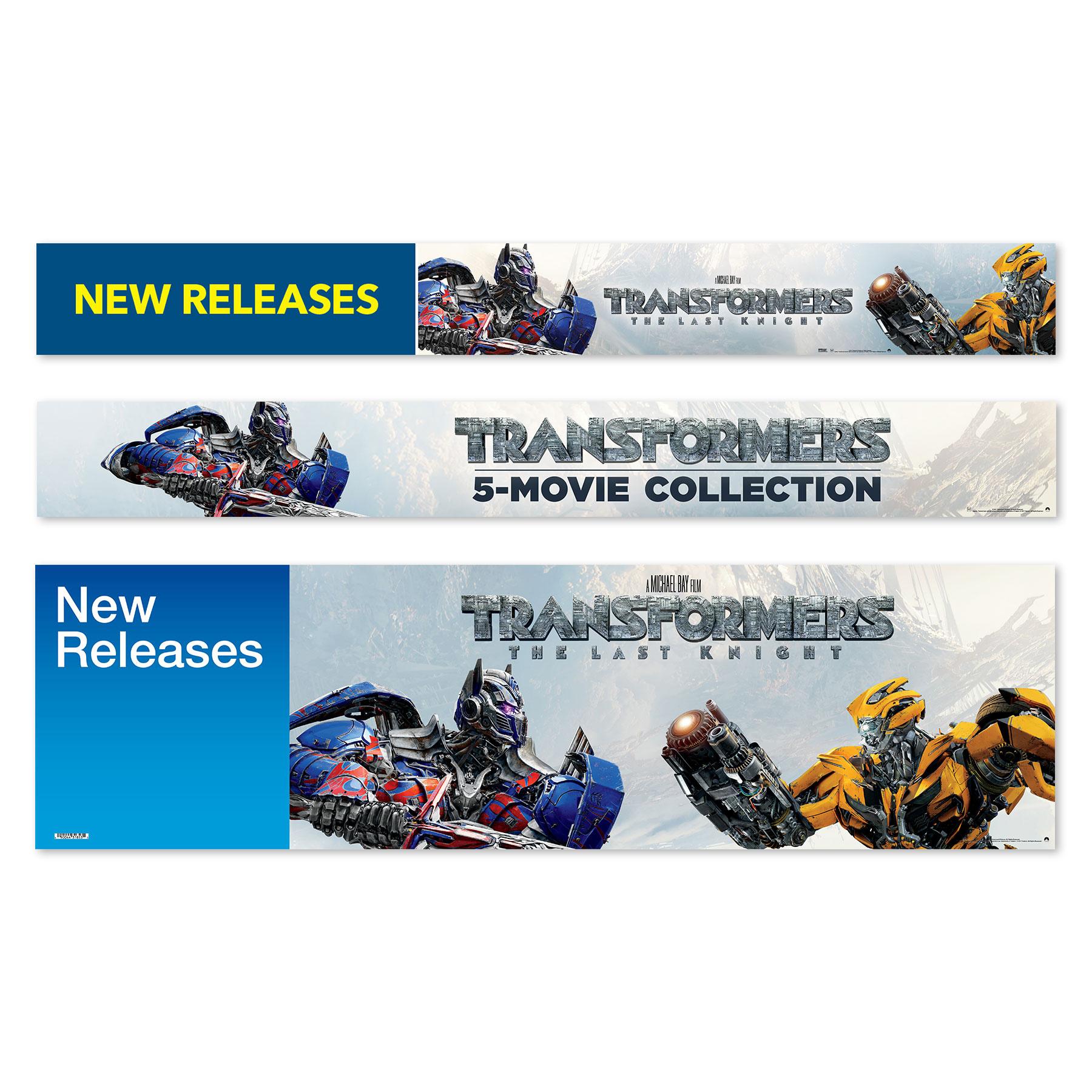 Transformers Best Buy & Target Signs