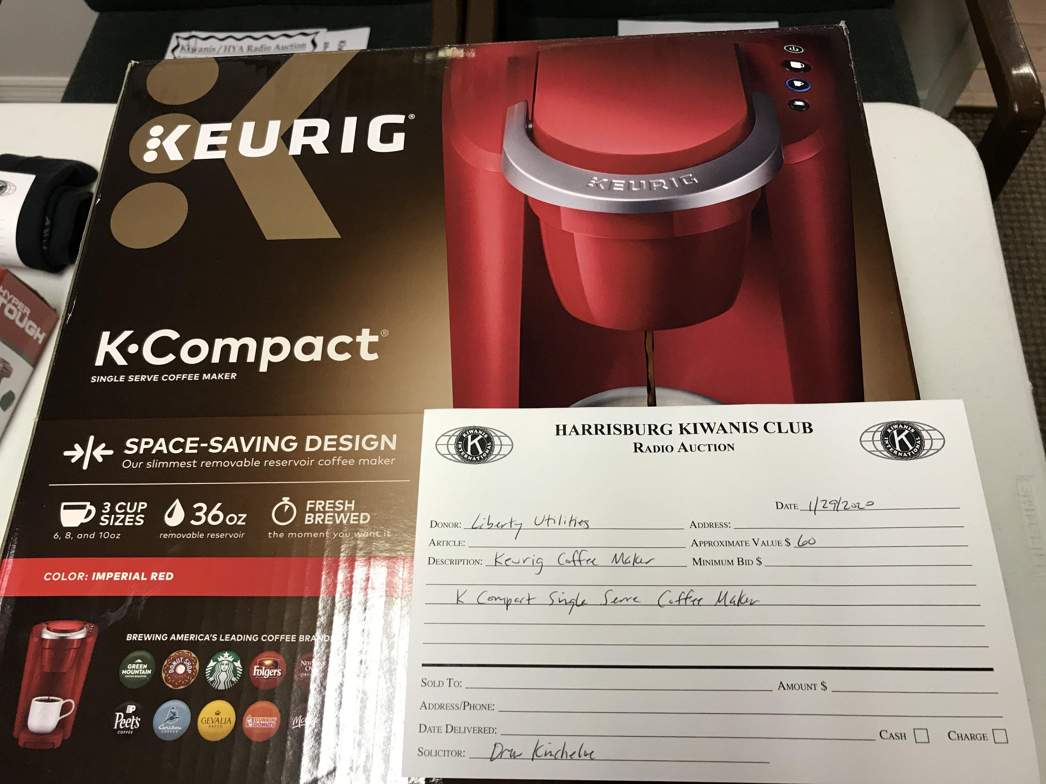 Item 325 - Liberty Utilities Keurig Coffee Maker