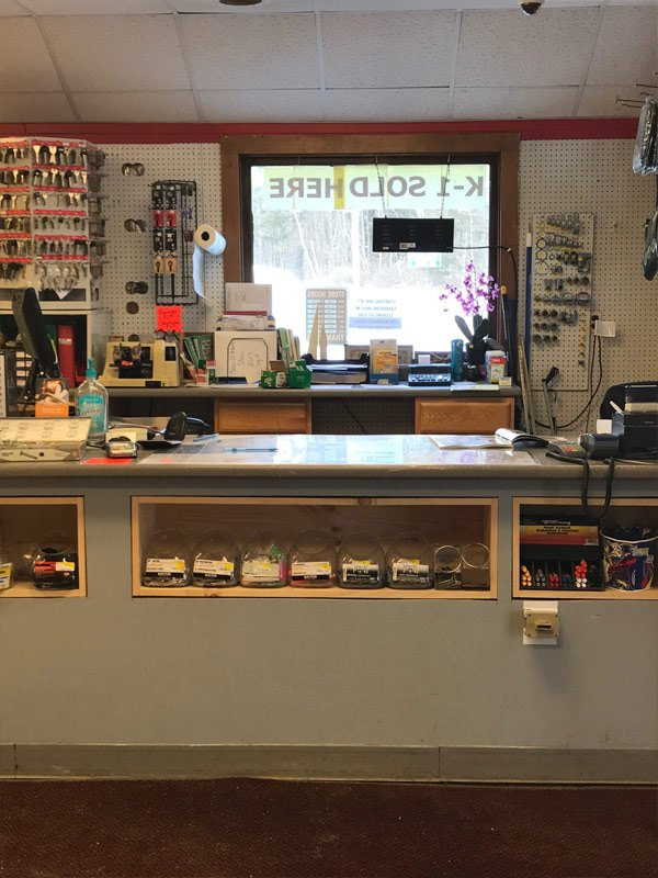Hardware Store Front Counter
