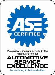 Automotive Service Excellence Certified||||