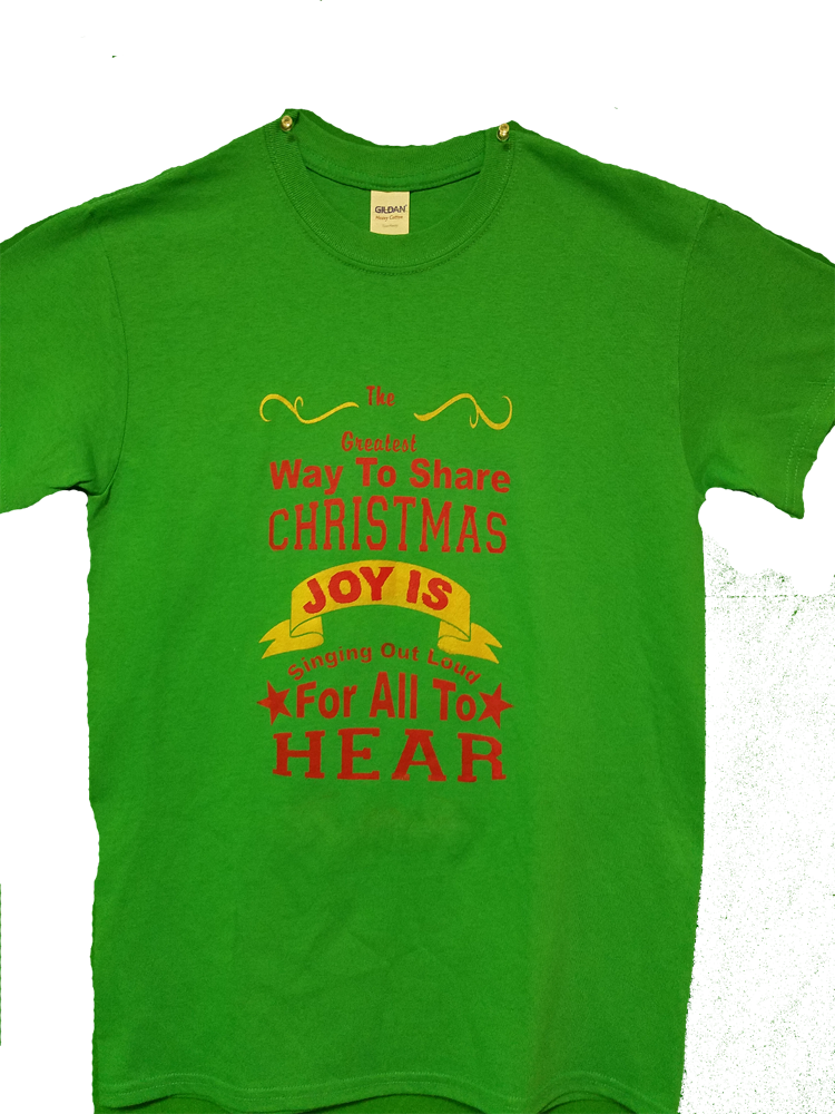 Christmas Shirt The shirt says it all , so share Christmas joy and the joy of a love one, sing out loud