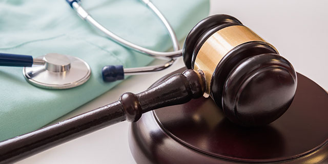 Medical Laws And Legal Concept.