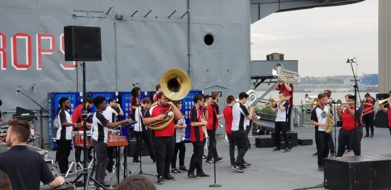 Performing on the Flight Deck