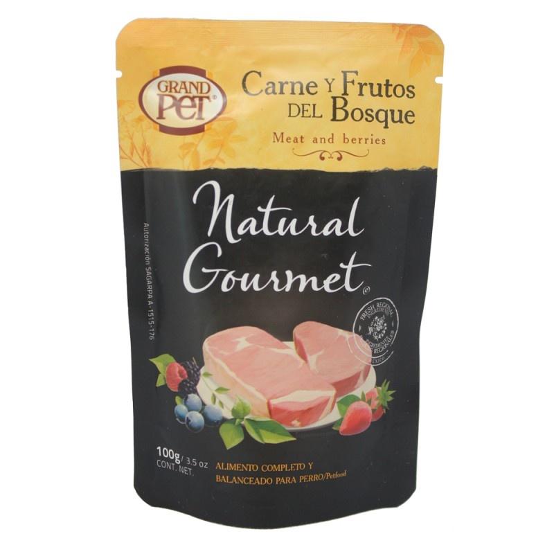 Carne y frutos del bosque (PERRO) 85 gr   $19.00