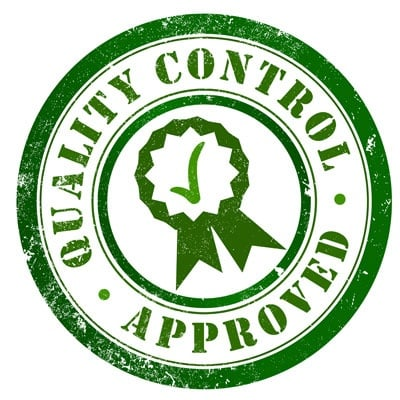Quality Control Apporved Stamp