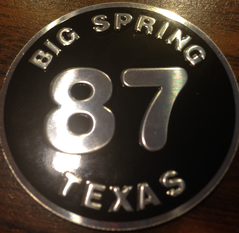 87 Big Spring Texas