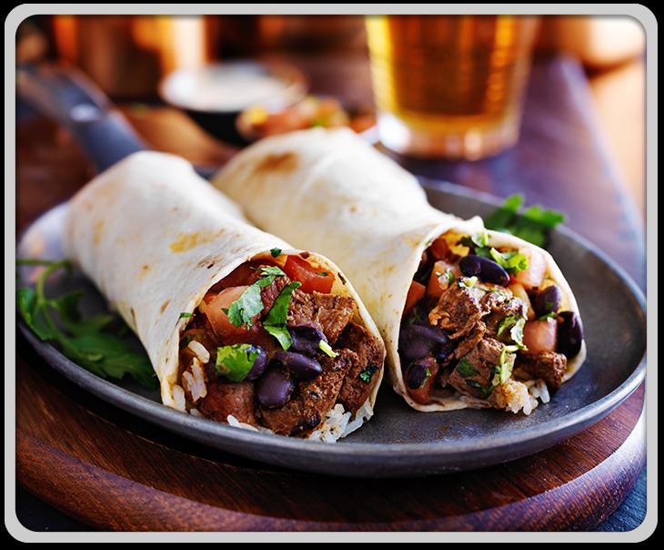 Beef Burritos