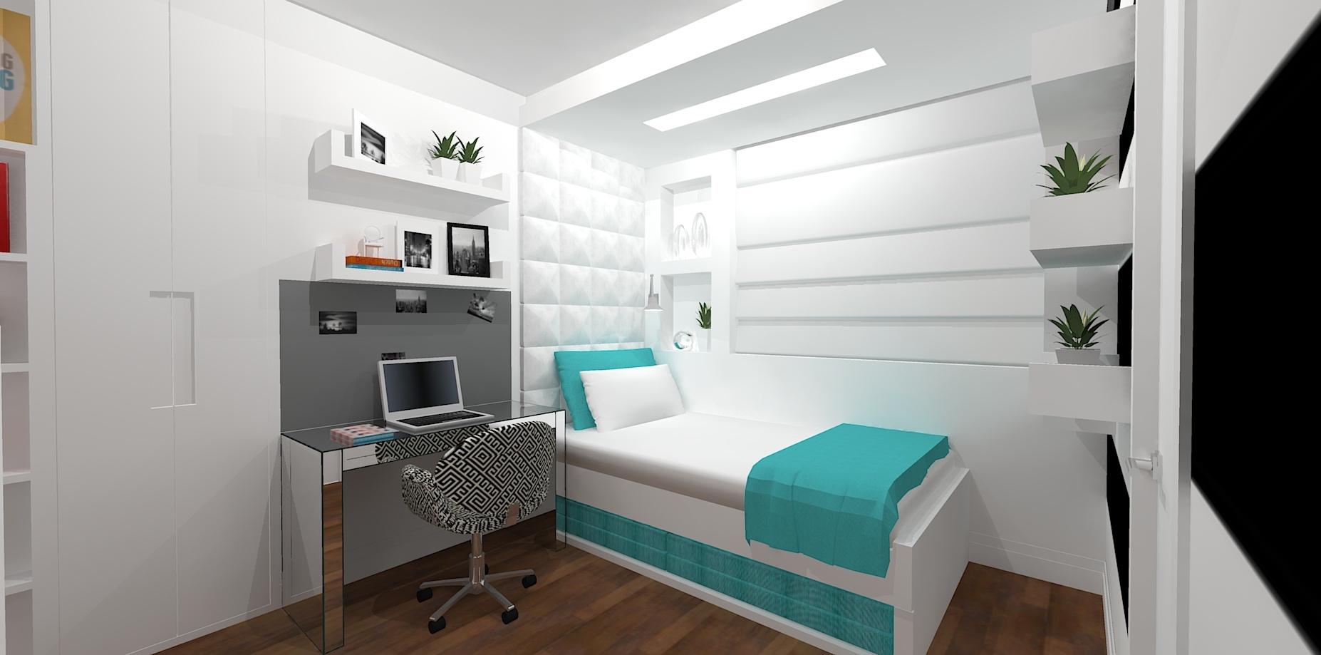 3D/Dormitório - Perdizes