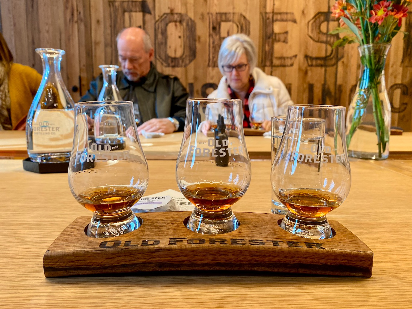 Bourbon Tasting - Old Forester Distillery