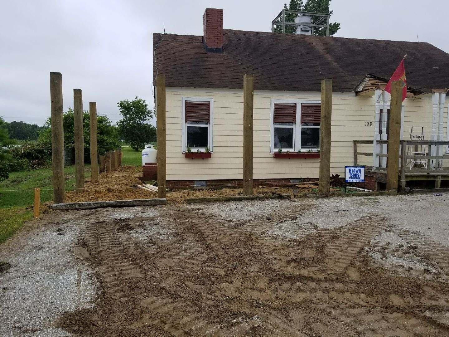 New Piling Foundations