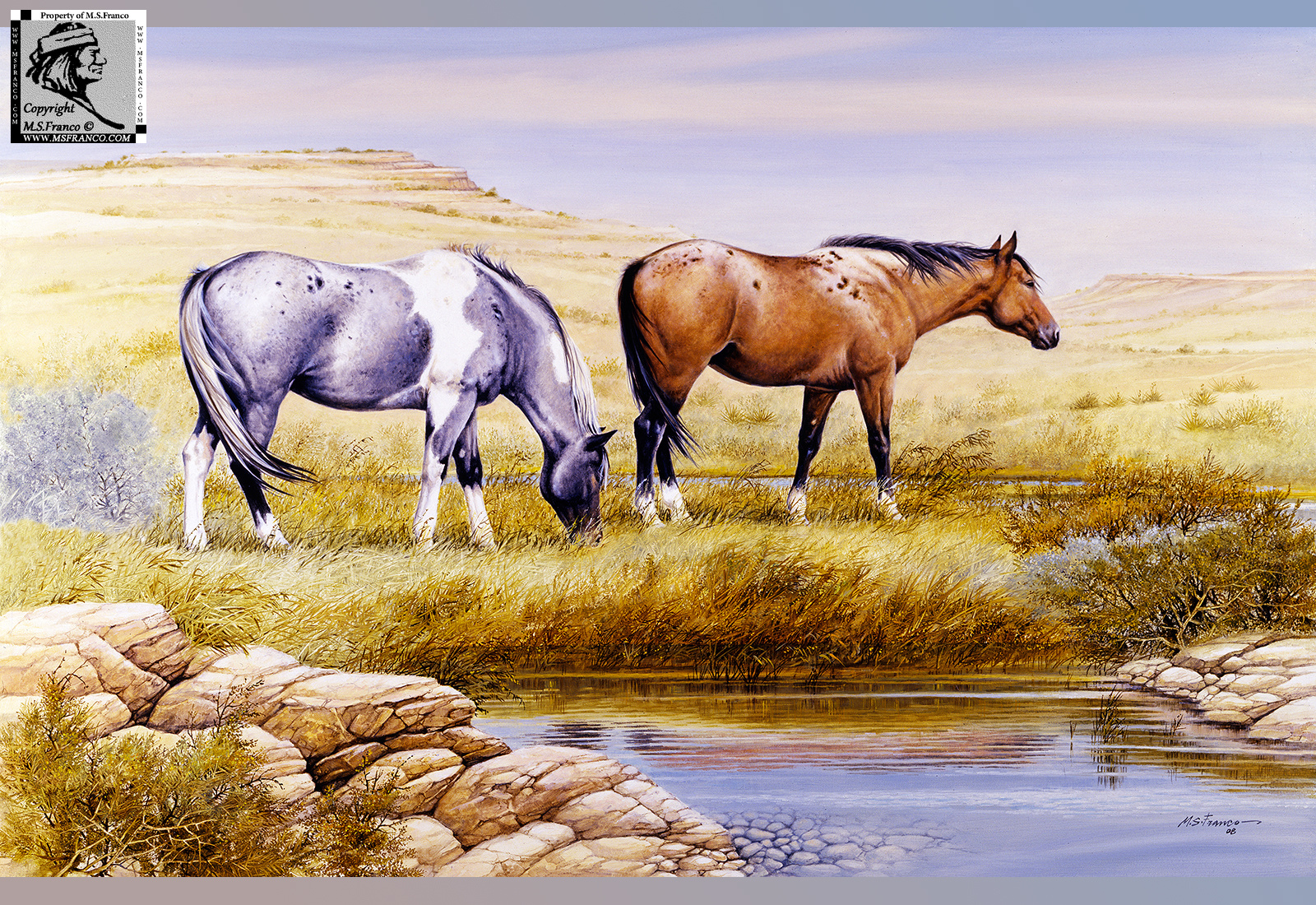 """Tranquility on the Open Range"""