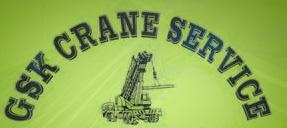 GSK Crane Service, Inc. in Brooksville, FL provides crane and rigging service.