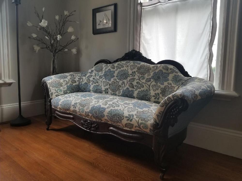 Victorian Sofa Restored