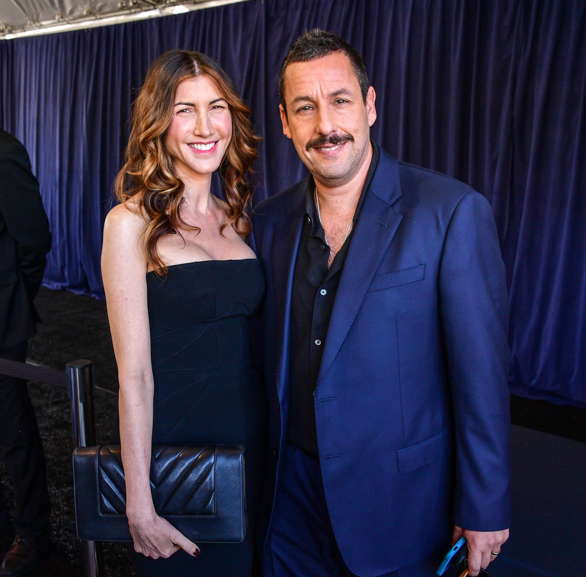 Adam & Jackie Sandler at 2020 Vanity Fair Party