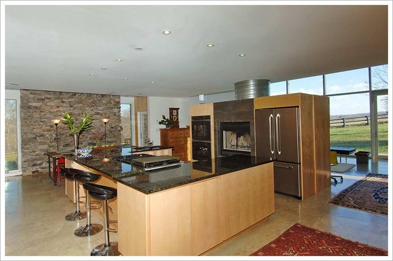 View of modern kitchen||||