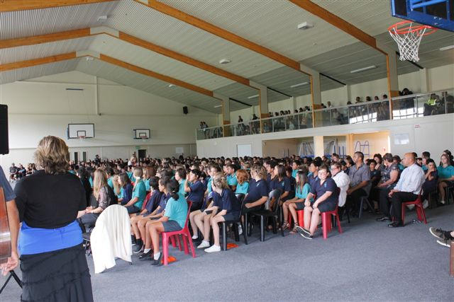 SCHOOL ASSEMBLY IN GYM OVER SMARTSQUARE--CREDITS TO TONY KIRBY (2)