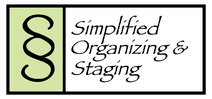 Simplified Organizing & Staging